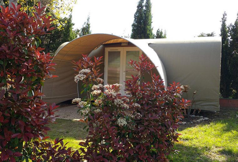 Location tente mobil-home Coco sweet
