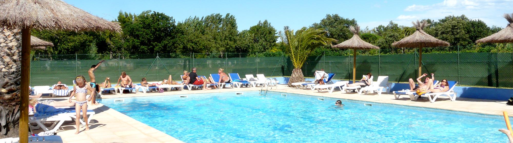 Camping Au Flamenco 3 étoiles avec piscine