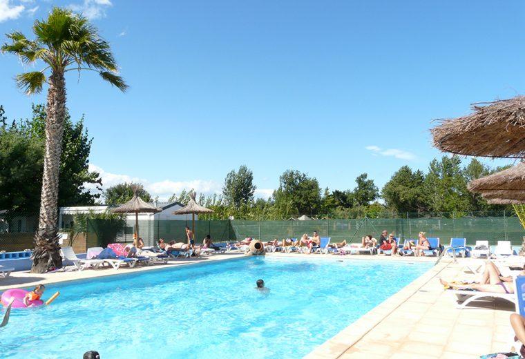 Camping Au Flamenco avec piscine