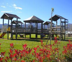 aire de jeux pour enfants au camping Argeles, Au Flamenco ***
