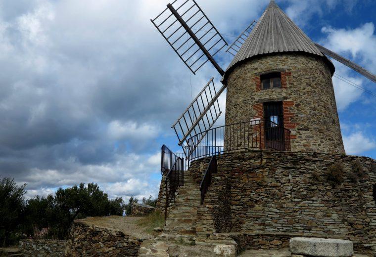 Moulin de Collioure près du camping Au Flamenco à Argelès